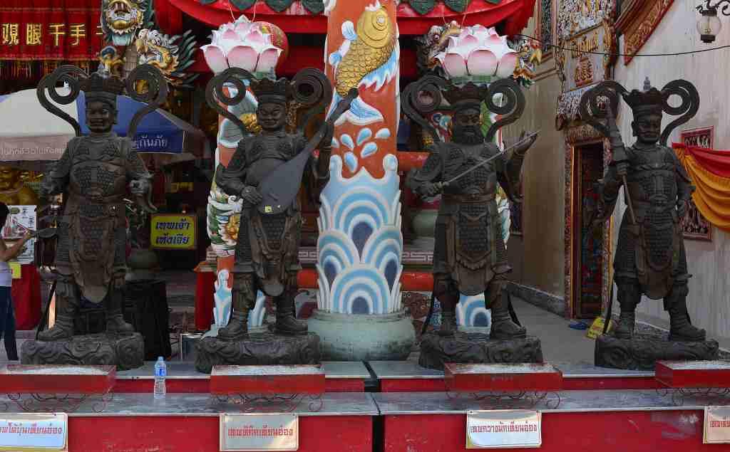 Ayutthaya Wat Phanan Choeng